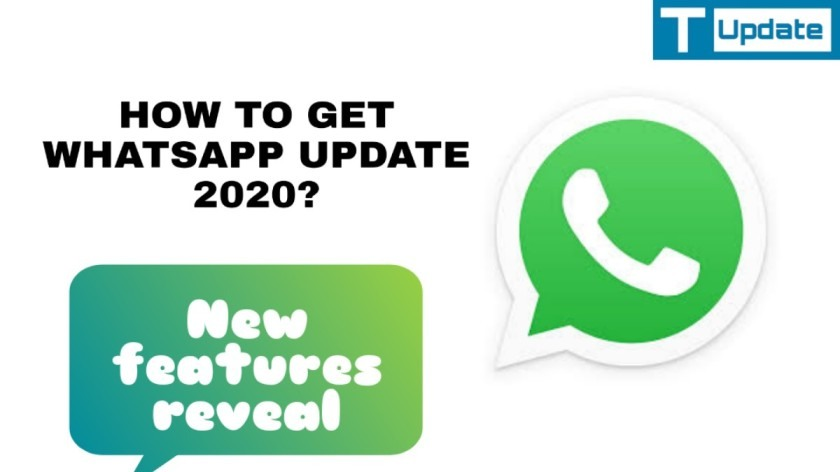 GET WHATSAPP UPDATE 2020