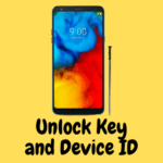 Lg stylo 4 unlock key and device ID