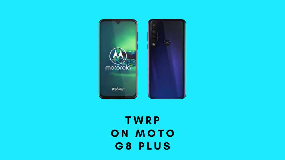 TWRP on moto g8 plus