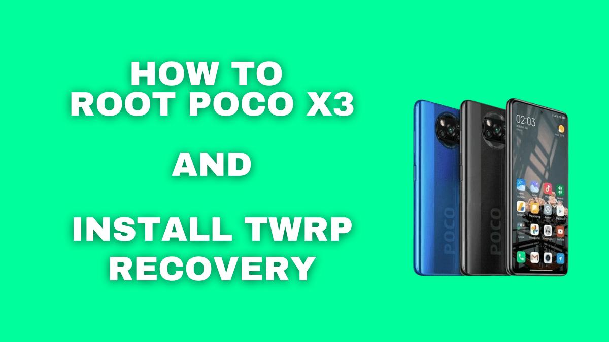 Root Poco x3