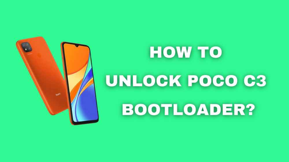 How to Unlock Poco C3 Bootloader