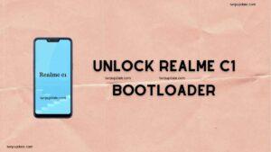 Realme C1 Bootloader Unlock