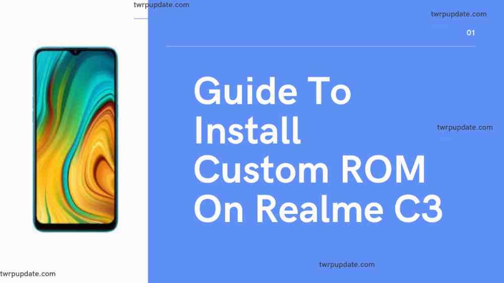 Custom ROM on Realme C3