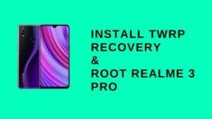 Realme 3 pro twrp