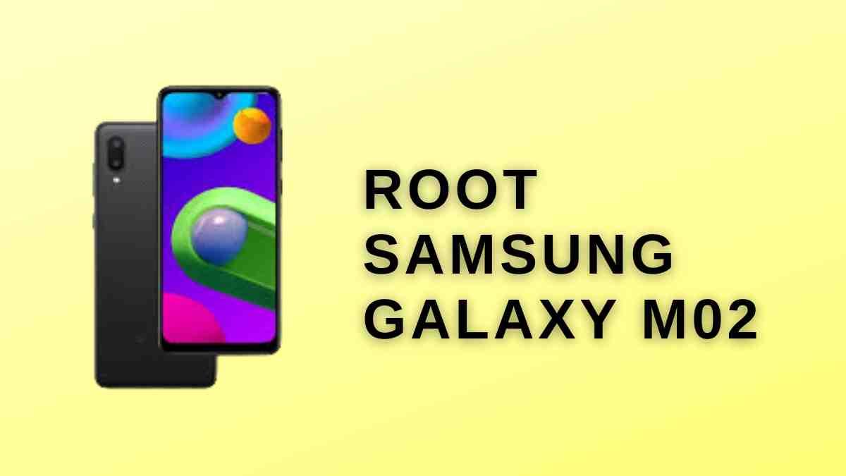 Root Samsung Galaxy M02