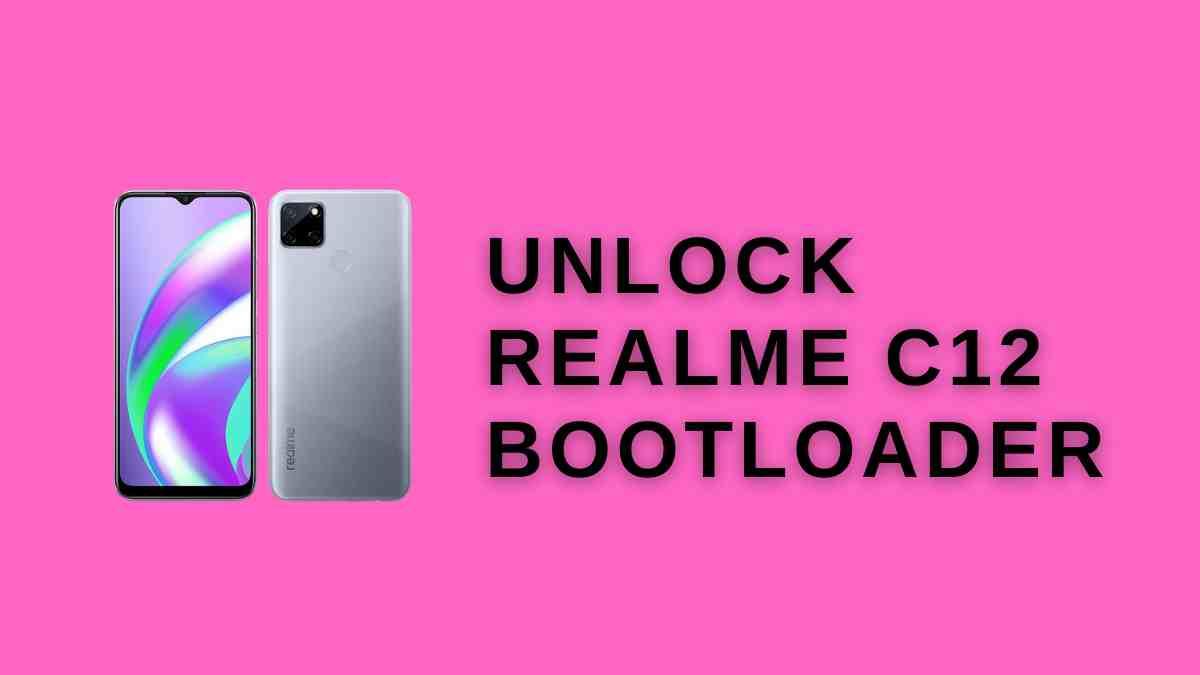Unlock Realme C12 Bootloader